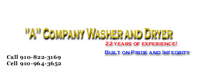 Home of A Company Washer & Dryer (Simply the Best!)